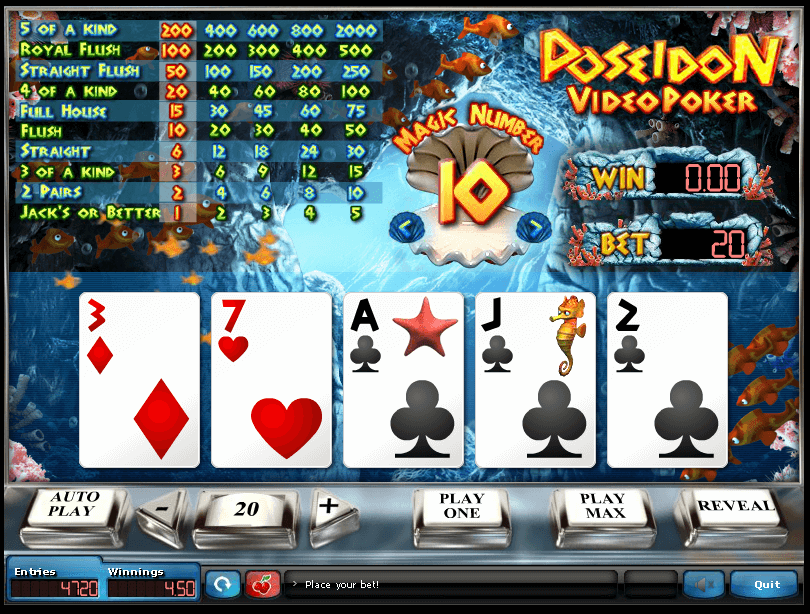 Online poker sweepstakes