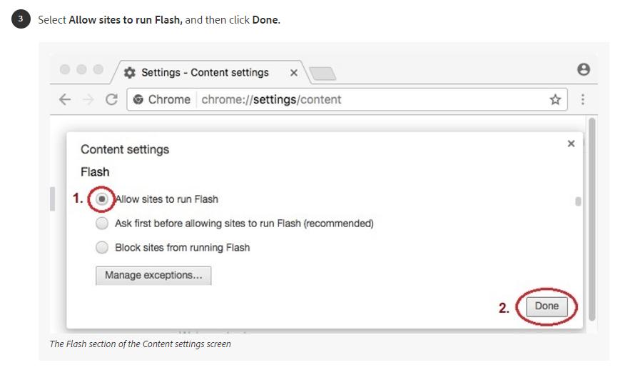 Mac OS Flash Step 3