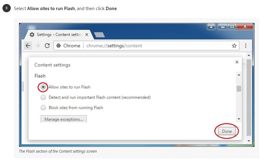Windows Flash Step 3